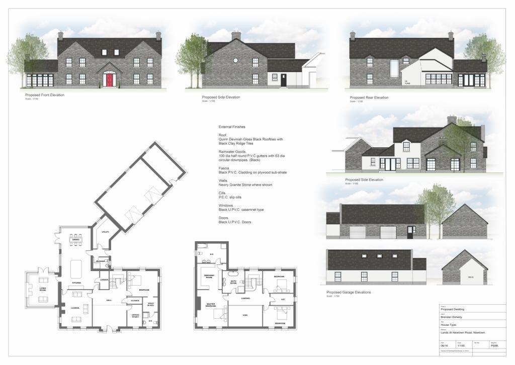 Proposed Bespoke Housing