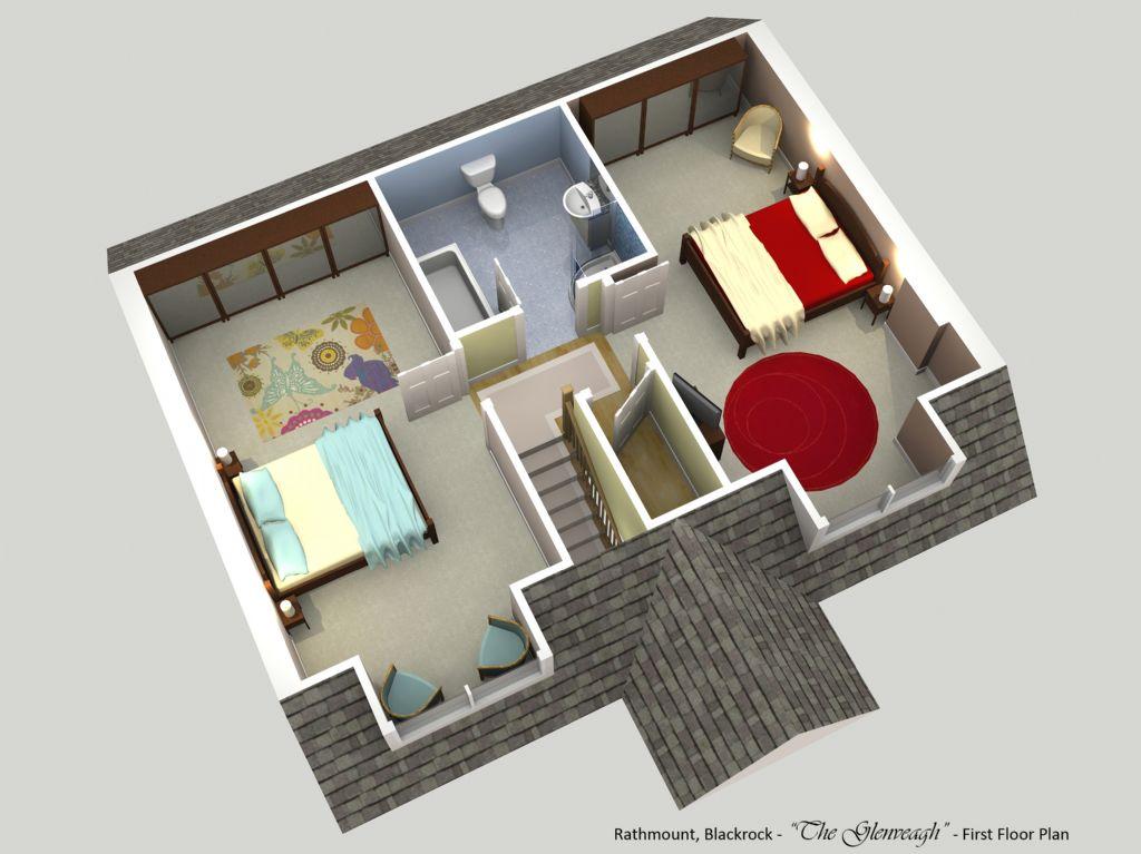 rathmount black rock - the glenveagh - first floor plan
