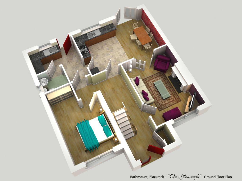 rathmount black rock - the glenveagh - ground floor plan